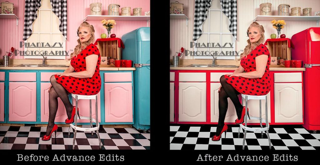 Advance Photoshop edits depicting before and after © Phantasy Photography™ | All Rights Reserved